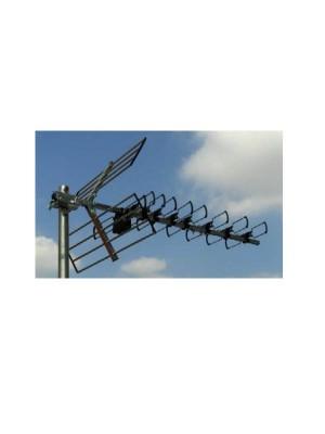 """Κεραία TV typ D 46EL με """"F""""connector"""