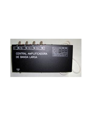 Ενισχυτής κεντρικών εγκαταστάσεων, Model AM-1006. 1in FM -1in BI -1in BIII -1in UHF. Output 123 dB/μV