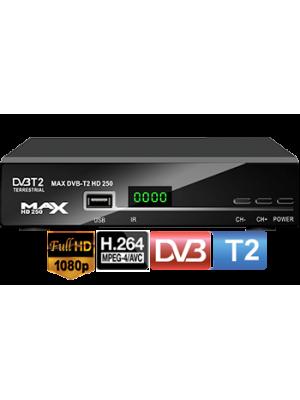 MAX T250, Επίγειος Ψηφιακός Δέκτης MPEG4-T2