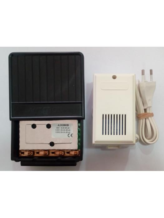 Ενισχυτής ιστού BIII,UHF,UHF 36dB ρυθμιζ. Model A10380B, ANTTRON Made in Belgium